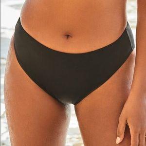 NWT Swimsuit For All Black Bikini Bottoms Size 20